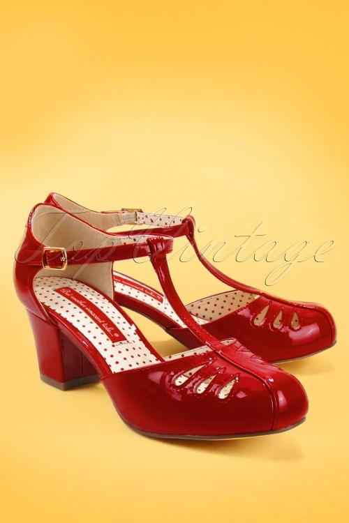 Bait Footwear 29540 Robbie Red Patent 20190129 006