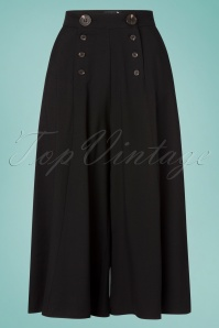 Bunny 30s Murphy Culottes in Black