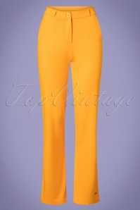 Tante Betsy 60s Babs Baggy Trousers in Gold Yellow