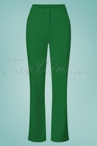 Tante Betsy 26647 Baggy Green Trousers 20190311 002W