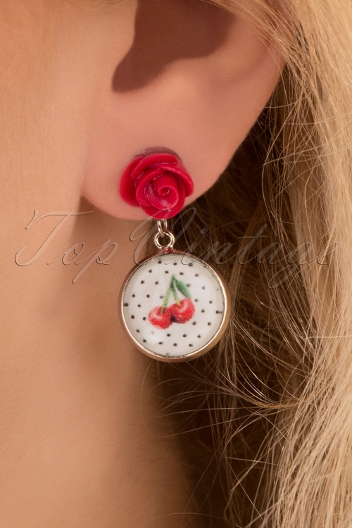 Sweet Cherry 29503 White Cherry Rose Red Polkadot 20190228 002
