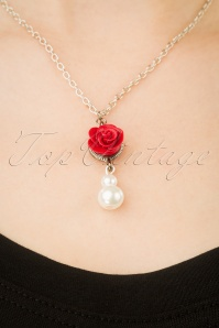 Sweet Cherry 29505 Necklace White Cherry Rose Red Polkadot 20190227 003