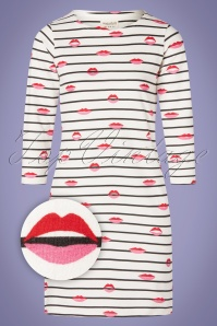 Sugarhill Brighton 27672 Brighton Striped Lips Dress 20190311 009Z