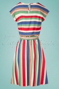 Sugarhill Brighton 27674 Connie Cabaret Striped Dress 20190312 007W