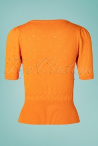 Tante Betsy 26650 Orange Cardigan 20190312 005W