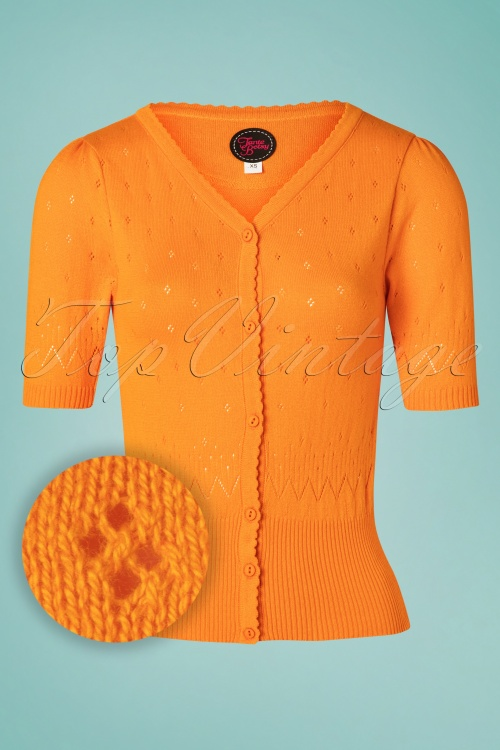 Tante Betsy 26650 Orange Cardigan 20190312 001W1