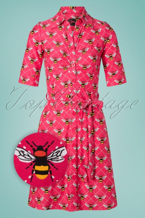 Tante Betsy 26642 Button Down Bee Dress 20190312 003Z