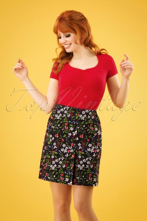 Blutsgeschwister 27282 Alltagsfalter Floral Skirt 20190208 1W
