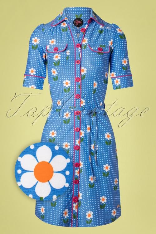 Tante Betsy 26645 Daisy Betsy Dress in Blue 20190312 011Z