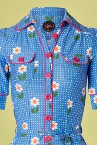 Tante Betsy 26645 Daisy Betsy Dress in Blue 20190312 011V