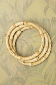 Bundle Of Bamboo Bracelets Années 50