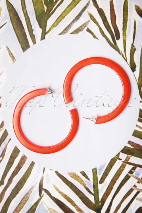 Darling Divine 29003 Earrings Oorbellen Orange Hoops 20190313 004 W