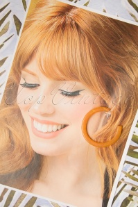 Darling Divine 29004 Earrings Oorbellen Orange Hoops 20190313 006 W