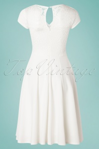 Vintage Chic 28779 Ivory Swing Dress 20190313 007W