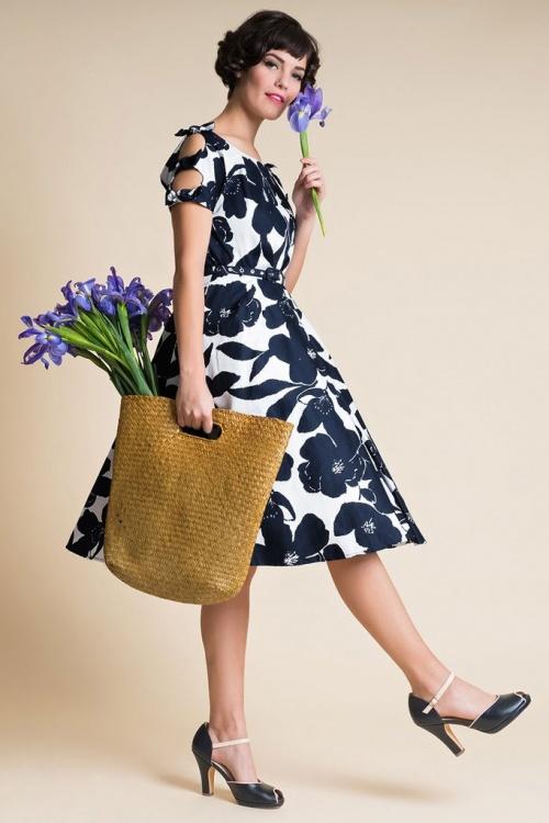 Unique Vintage 29946 Selma Bow Swing Dress 20190314 014