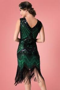Unique Vintage 29947 20s Veronique Green Flapper Dress 20190314 008