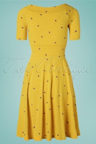 Blutsgeschwister 27293 Roswitas Yellow Dress 20190313 007W