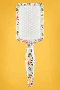 Rectangular Paddle Hair Brush in Floral
