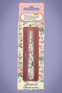 Slanted Tweezers in Floral
