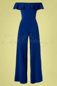 70s Hedi Jumpsuit in Royal Blue