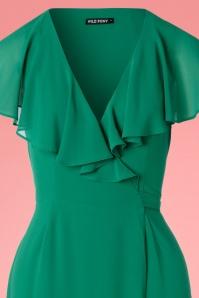 Wild Pony 27337 Elsa Maxi Dress in Green 20190315 001V