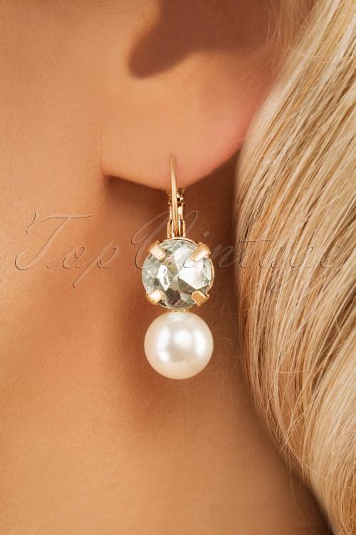Lovely 28934 Earrings Pearl Crystal 20190228 006