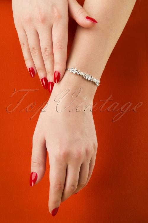 Lovely 28949 Crystal Bracelet Pearl Silver 20190228 007