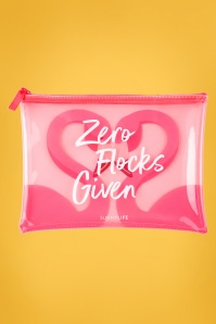 Sunny Life 28796 Flamingo No Flocks Given Pink Pouch Bag White 20180414 001