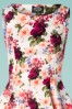 Hearts and Roses 20156 White Floral Swing Dress 20190318 003V