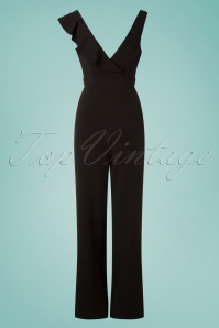 Wild Pony 70s Christian Jumpsuit in Black
