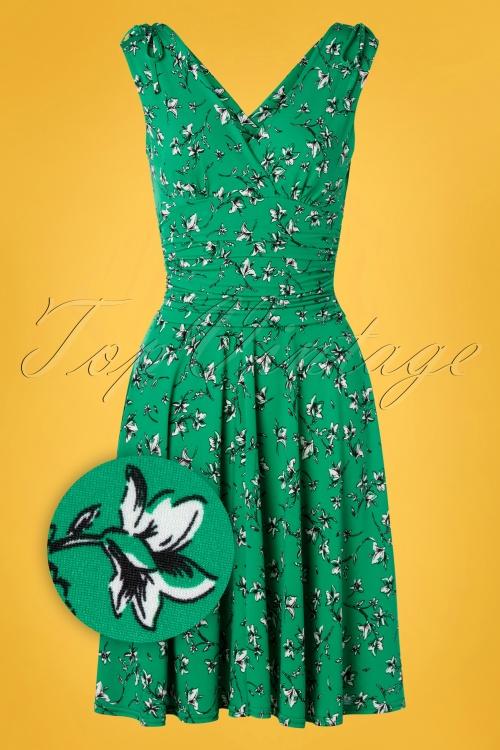 Vintage Chic 28784 50s Grecian Slinky Dress 20190315 002Z