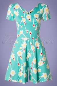 Hearts and Roses 29023 Blue Floral Jumpsuit 20190318 003W