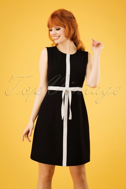 Mademoiselle Yeye 27074 Dress Black White Turn Up The Volume 20190207 1W