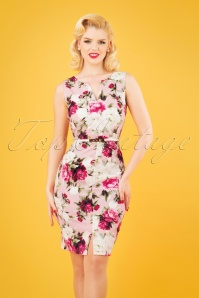 Paper Dolls 27813 Pink Floral Pencil Dress 20190218 1W