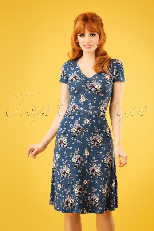 Vive Maria 27011 Mon Amour Blue Dress Flower 20190207 1W