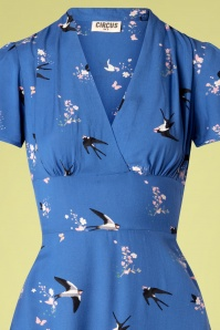 Circus 27560 Swallow Dress in Blue 20190312 004F