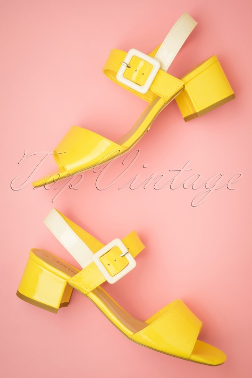 Tamaris 27827 Sandal Sun yellow 20190318 043W
