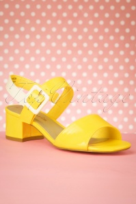 Tamaris 27827 Sandal Sun yellow 20190314 016W