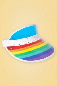 Sunny Life 60s Over The Rainbow Sun Visor