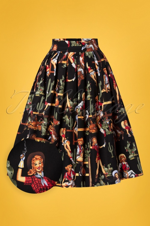 Banned 30116 Cowgirl Pleated Swing Skirt 20190320 003W1