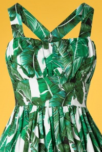 Banned 30114 Tropical Leaf Dress 20190320 001V