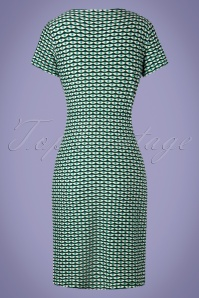 Bakery Ladies 26682 V Neck Green Eyes Dress 20190321 007W