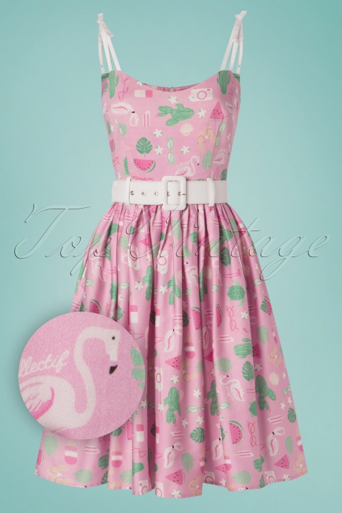 b7ab5e720fb Collectif Clothing 27426 Jade Summer Flamingo Dress 20180814 003Z