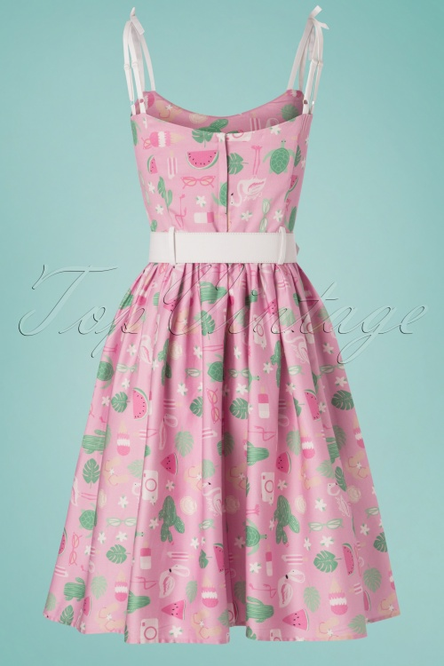 871be8e1a69 Collectif Clothing 27426 Jade Summer Flamingo Dress 20180814 004W