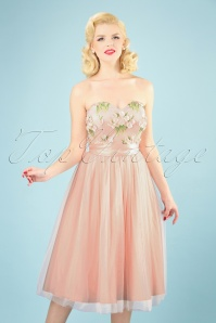 Collectif Clothing 27467 Hillary Blossom Flower Occasion Dress 20181217 012W
