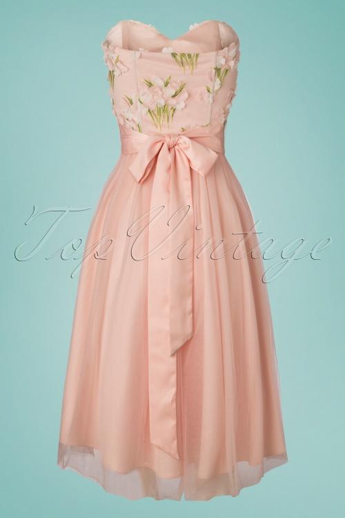 e30981203da538 Collectif Clothing 27467 Hillary Blossom Flower Occasion Dress 20181217 011W