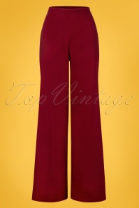 Collectif Clothing 27449 Opal Classic Cotton Trousers 20180816 001W