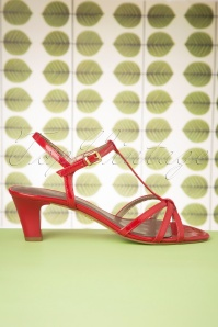 Tamaris 27833 Red Heels Sandals 20190315 003W