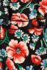 King Louie 27213 Black Viola Ruffle Jumpsuit Flora 20181121 008