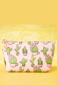 Collectif Clothing 27028 Pouch Makeup Cacti Party Roze 20190314 065W